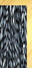 Silver & Black Onyx Pearl Drum Wrap