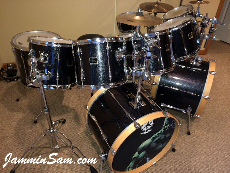 Js Black Sparkle On Drums Page 2 Jammin Sam