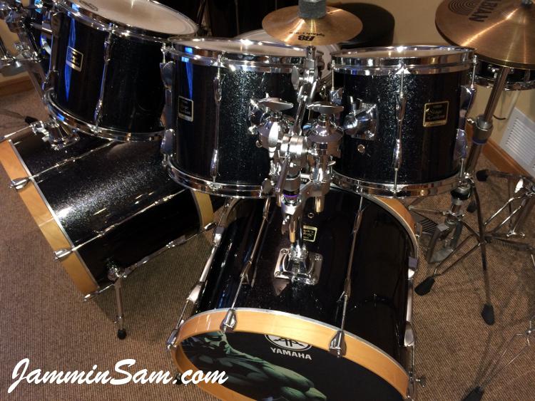 Js Black Sparkle On Drums Page 2 Jammin Sam