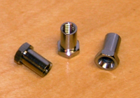 photo of our 6-sided lug insert