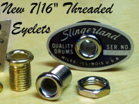 New Machined Eyelet w/nut
