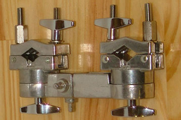 Multi-Adjustment Tube Clamp for musical drums